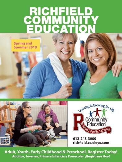 Richfield Community Education Spring Summer 2019