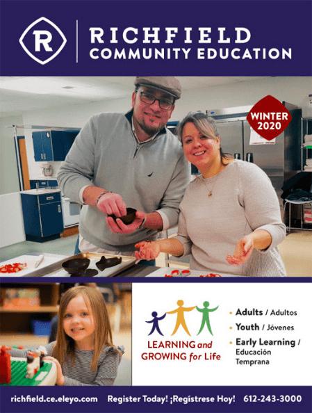 Richfield Community Education Winter 2020