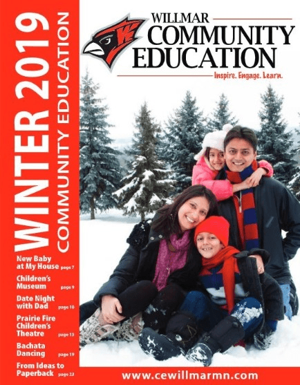 Willmar Community Education Winter 2019 catalog