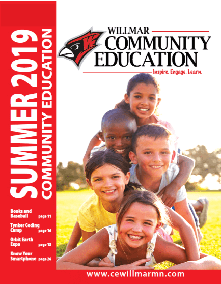 Willmar Community Education Summer 2019 catalog
