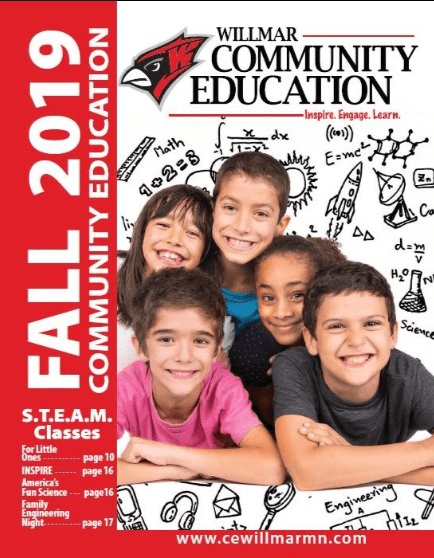 Willmar Community Education Fall 2019 catalog
