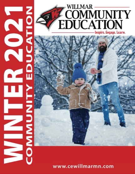 Willmar Community Education Winter 2021 catalog