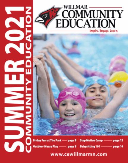 Willmar Community Education Summer 2021 catalog