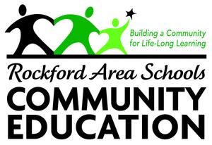 Rockford Area Schools Community Ed Logo