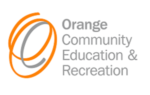 Orange Community Education & Recreation Logo