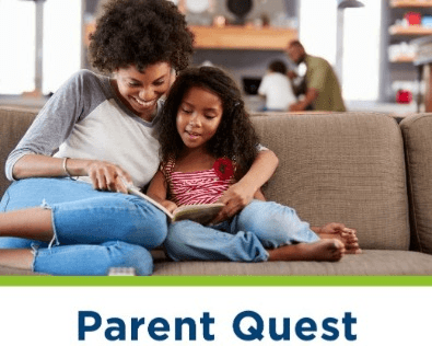 Parent Quest - learning opportunities for parents