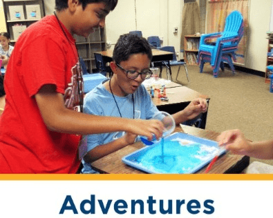 Adventures - enrichment classes for youth