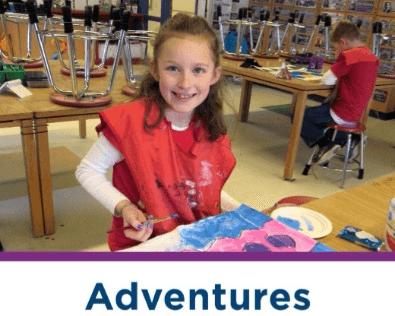 Adventures - enrichment classes for grades K-8