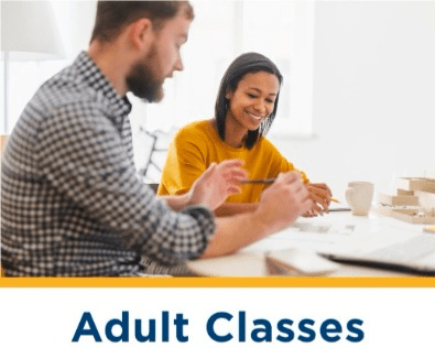 Adult classes -- fun classes for adults