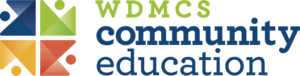 West Des Moines Community Schools Community Education Logo