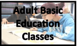 Adult Basic Education & GED Classes
