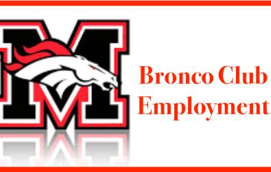 Bronco Club Employment