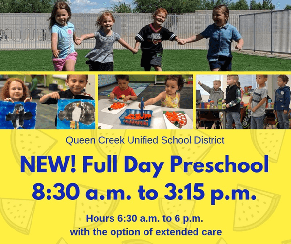 QCUSD Full Day Preschool & KinderPrep Logo