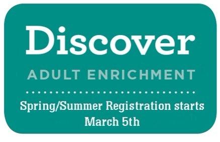 Adult Enrichment Class Listing