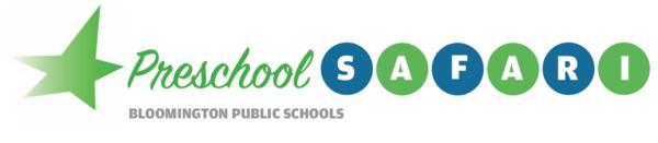 Bloomington Preschool SAFARI Class Logo