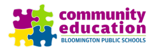 Bloomington Community Education  Logo