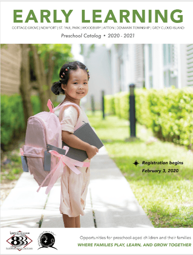 ISD833 Preschool Catalog for the 2020/21 SY