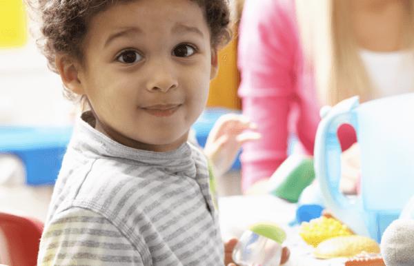 Preschool Child Care Logo