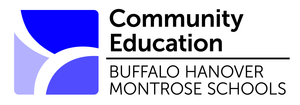 Buffalo Hanover Montrose Community Education Logo