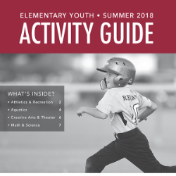 Elementary Youth Summer 2018 Activity Guide