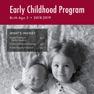 Early Childhood Programs 2018-2019