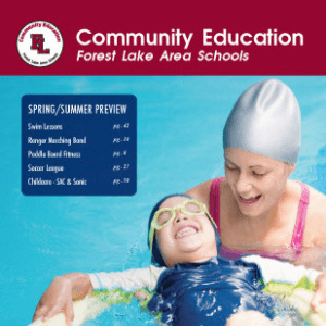 Community Education Summer 2018 Catalog