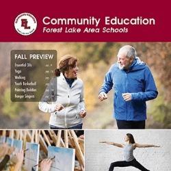 Fall 2018 Forest Lake Area Schools Community Education Catalog