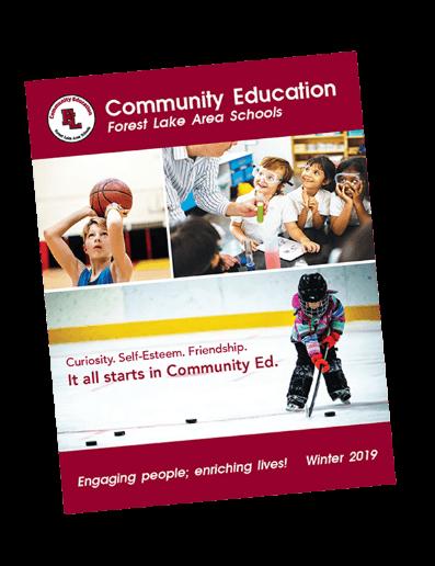 Forest Lake Area Schools Community Education Fall 2018 Catalog