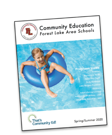 Forest Lake Area Schools Community Education Fall 2019 Catalog