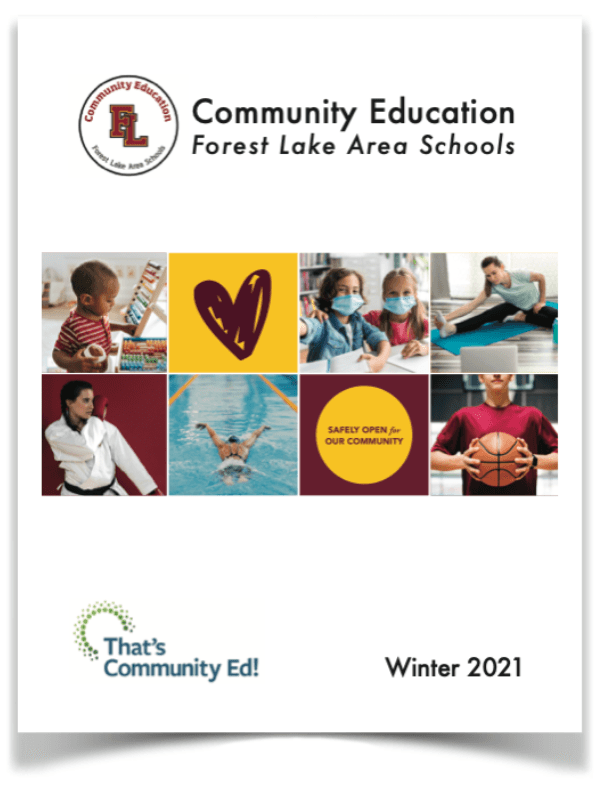 Forest Lake Area Schools Community Education Fall 2020 Catalog