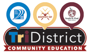 TriDistrict Community Education Logo
