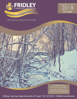 Winter 2018 Catalog
