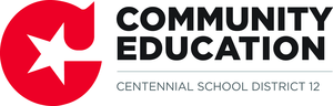 Centennial Community Education Logo